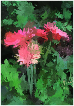 Abstract Garden Flowers - Click to download free prints.