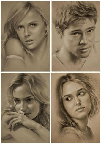 Master the Art of Portrait Drawing - Learn how today with the downloadable video course by artist Taylor Roy.